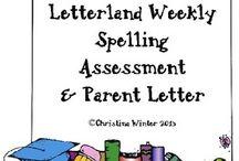 Letterland / Education, phonics, spelling, word work