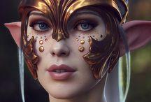 3D and games screenshots