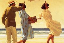 Art of ~ Jack Vettriano / Artist Jack Vettriano OBE born Jack Hoggan, is a Scottish painter.