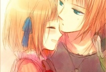 Kyod-AI ❤️ / Anime siblings. They just mean something to me * laughs *