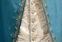 Mode du 18 eme / Tous les accessoires, costumes du 18eme