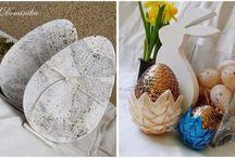 wielkanoc / Ręcznie wykonane przedmioty, kartki i dekoracje o tematyce wielkanocnej, do wykonania których użyto produktów marki Papelia i innych dostępnych w sklepie Craft Style