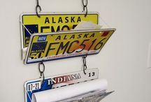 License Plate / a collection of different license plate.