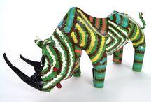 save the rhino / by Heather Johnson