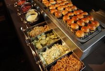 Banquet food stations