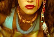 warrior woman photography