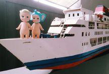 Kyak! I'm on Titanic! / Photo By @frsysm