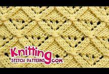 knitting pattern various