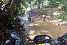 Event Trail Ciletuh Geopark Sukabumi West Java Indonesia / Event Enduro Trail Trabas Ciletuh Geopark Sukabumi West Java Indonesia