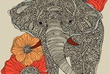 Applikationen Elefanten