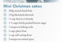Recipes... give them a go / Great recipes for a homemade Christmas