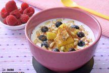 desayunos con yogurt