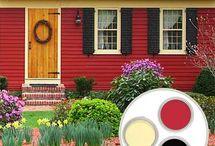 House Exterior Color Palette  / by Alena Schatzel