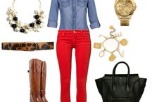 outfits - women - men / by Sandra Garcia