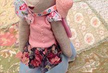 Интерьерные текстильные куклы / В этом альбоме собраны куклы , сделанные мной