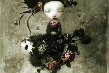 Nicoletta Ceccoli illustrations
