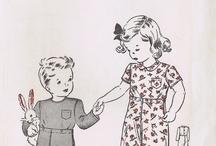 Baby Infant & Toddler Patterns Vintage Retro Modern Inspiration / by Vintage Patterns Dazespast