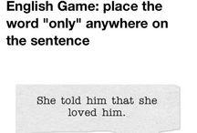Oh, English..