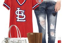 ღ St. Louis Cardinals-Fan Stuff ღ / Fashion...accessories....all the cool extras for us fans..... GO CARDS!!! / by Lisa Coulter