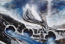 Mural ¨El destino de Mercurio¨