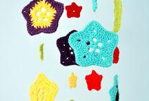 colgante pieza chicos crochet