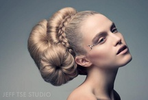Quirky Bridal Hair / A step away from the 'traditional' bridal hairstyles