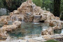 Jazierka / Umelé jazierka,vodopády