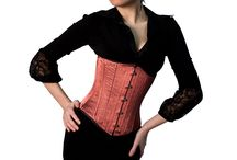 Orange Corsets @ UnisexCorsets.com / Orange Corsets Made For Any Occasion For Men & Women. / by UnisexCorsets.com
