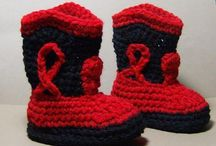 Crocheted footwear / by Sherry Ray