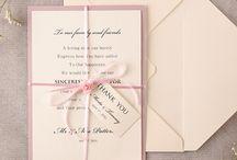 Zaproszenia wedding