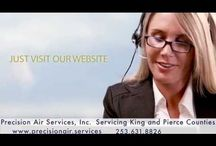 Precision Air Services Covington, WA Heating, Cooling & Commercial Refrigeration Contractor Services