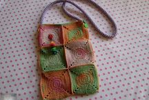 Crochet - Horgolás (Bag - Táska)