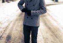 Men winter fashion
