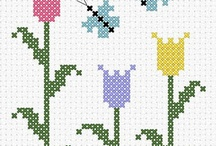 Cross Stitch––Easter/Spring