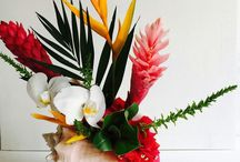 Flower Arrangements / Flower Arrangements for every occasion. we are located on Ambergris Caye Belize  contact us at www.dulcebelizeweddings.com