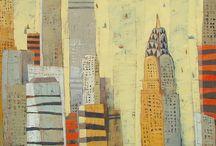 Paul Balmer / Contemporary/abstract   / by Barbara Olsen