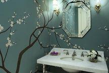 baños / pintura y decoraciones diferentes para el baño