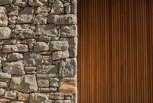 fachada de pedra