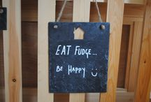 Cute Things in our Shops! / Have you seen any of these in your local Roly's Fudge Pantry?