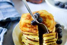 Pancake and waffles