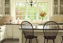 White Kitchen Inspiration / by Terri Perry