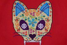 Hama-nuh, Hama-nuh! / Perler beads, Hama beads, grid patterned stuff. / by Leah Barber