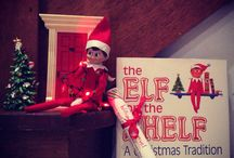 Fred - elf on a shelf / Fred our elf
