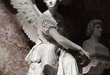 ange, religieux,croix