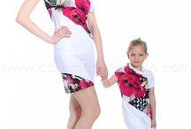 vestidos mama hija