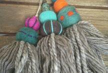 Borlas de lana