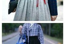 Casual korea tradisional dress