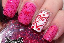 Valentine's Day Nails / by Tierra Washington