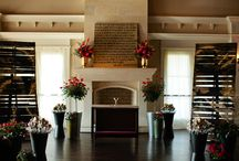 Fireplace Wedding Decor / We've got a lovely fireplace at the Studio and here's ideas we think would look fabulous!