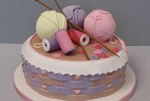 Wool cake